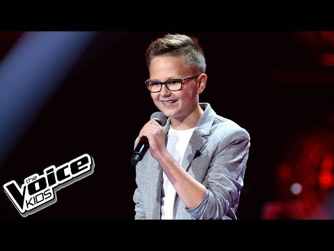 "Bartek Peszuk – ""You Raise Me Up"" – Przesłuchania w ciemno – The Voice Kids Poland"