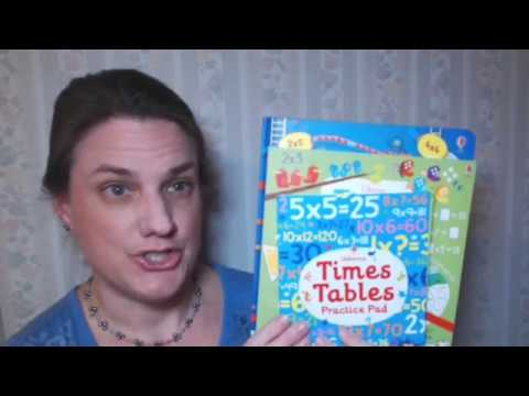 Learning the Times Tables with  Usborne Books & More