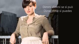Arisa - Senza Ali (Testo letra y traducción Italiano-Español)