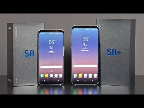Samsung Galaxy S8 & S8+: Unboxing & Review