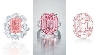 10 Famous Pink Diamonds Sold At Christie's