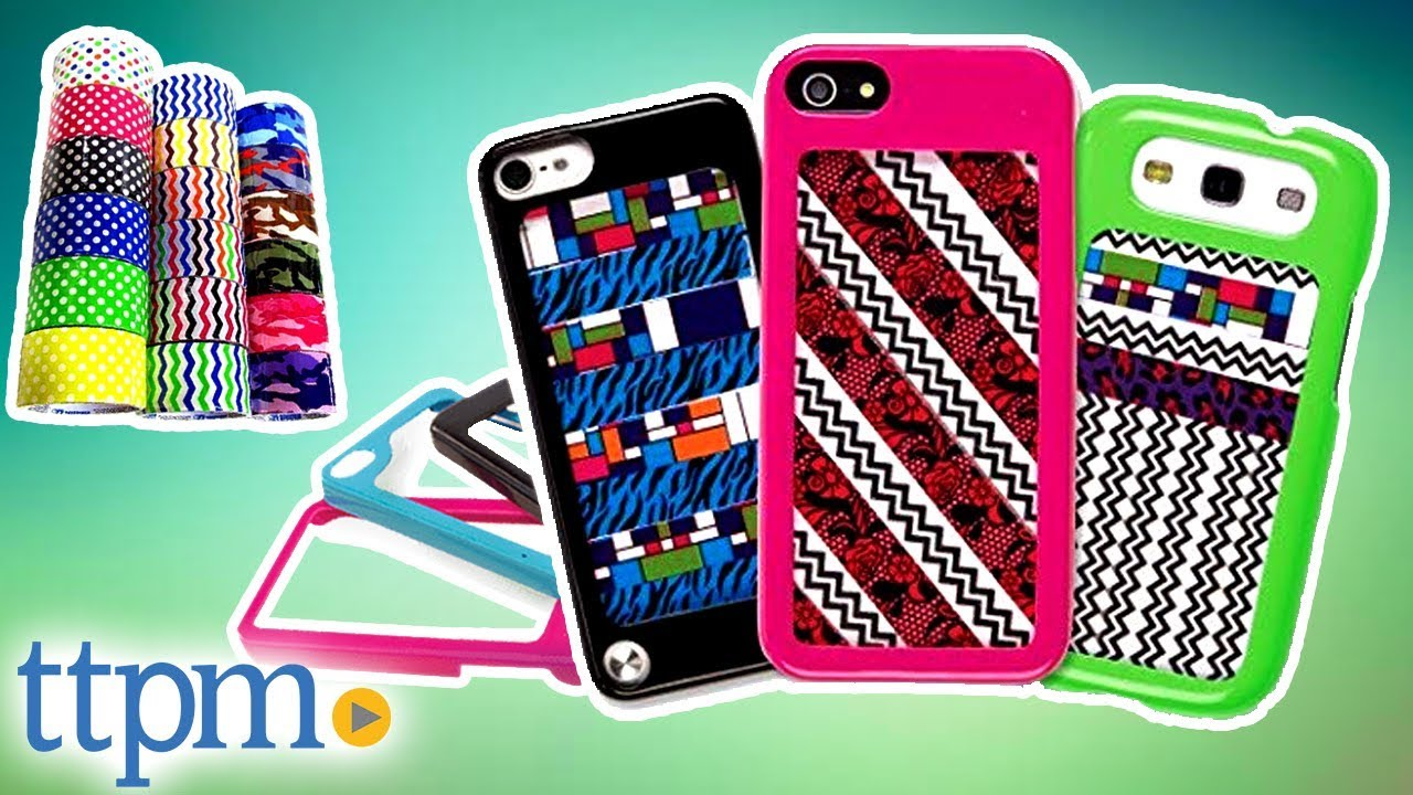 Make Your Case Phone And Ipod Case Decor Tape Diy Phone Covers