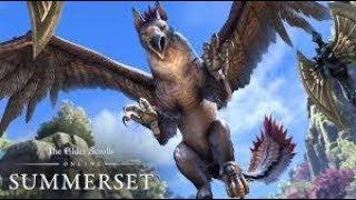 new video game The Elder Scrolls Online: Summerset - Gamreplay Trailer