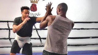 AnEsonGib sparring partners compete against each other to prove who is baddest!