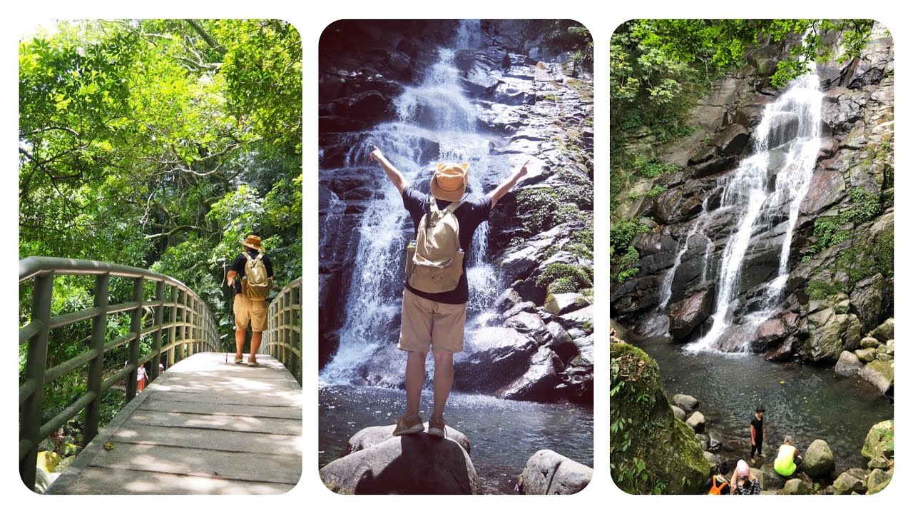 夏天來去《青山瀑布步道》玩水 - YouTube