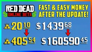 The BEST Way To Make Money In Red Dead Online After The NEW Updates! (RDO Patch 1.05)