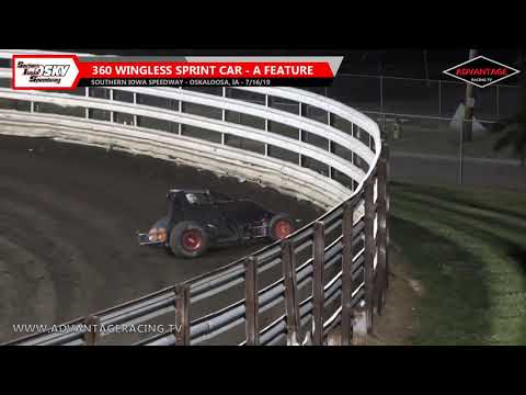 Wingless Sprint/Sport Compact Features - Southern Iowa Speedway - 7/16/19