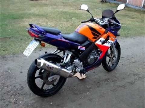 honda cbr 125 devil racer revving youtube. Black Bedroom Furniture Sets. Home Design Ideas