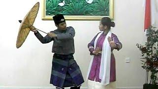 tutorial tari payung babendi sumatera barat minangkabau dance kbri abu dhabi hd