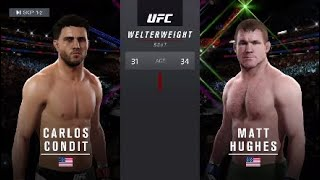 Скачать SMASHED Matt Hughes With CARLOS CONDIT PS4 UFC217 KO