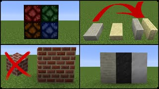 My NEW Minecraft Block Ideas And Changes [Minecraft Suggestion]