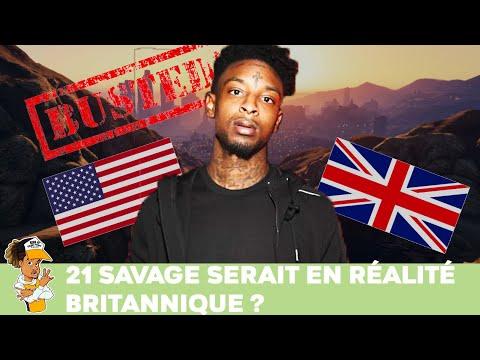 21 Savage serait en réalité Britannique ?!!