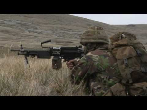 Yorkshire Regiment on the Falkland Islands (part 1/3)