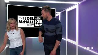 "THE JOEL MCHALE SHOW WITH JOEL MCHALE Official Clip ""Kristen Bell"" (HD) Netflix Weekly Comedy Series"