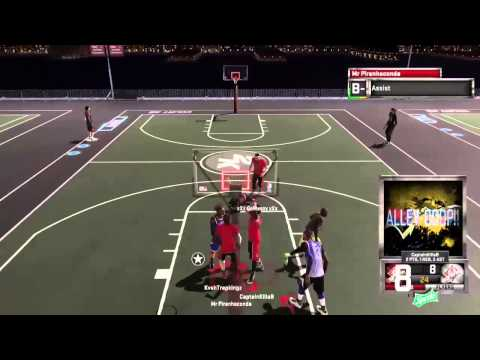 NBA 2K15: 2 Epic Ally Oop's in the Park!