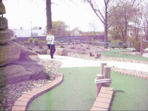 Disco Miniature Golfing Queen by Maureen Cox