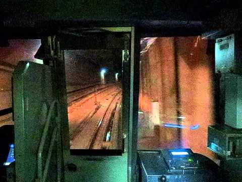 Hibiya Line Front Cab View (Ebisu-Kasumigaseki) 日比谷線 (恵比寿-霞ヶ関) 130110
