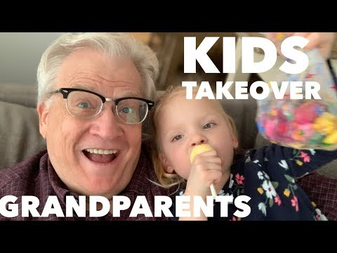 KIDS TAKEOVER GRANDPARENTS WHILE PARENTS TRAVEL TO NEW ZEALAND