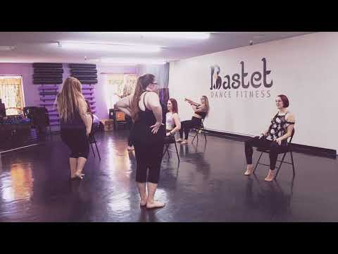 Lap Dance Choreography - Skin by Rihanna - Lap Dance Workshop Day 1 Group 2