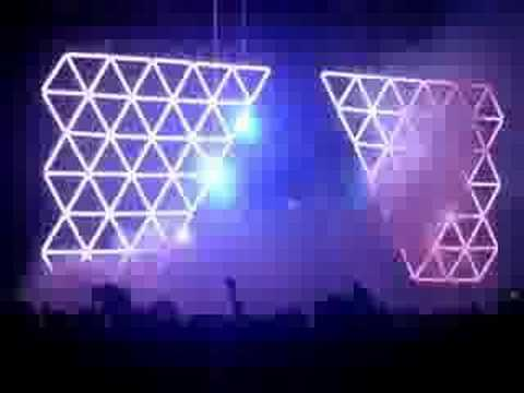 Daft Punk Live Melbourne - 'Television Vs Around The World'