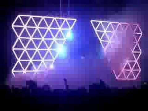 Daft Punk Live Melbourne - 'Television Vs Around The World'
