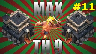 Clash of Clans Road to Max Th9 Ep11 (Air Defense & Champs)