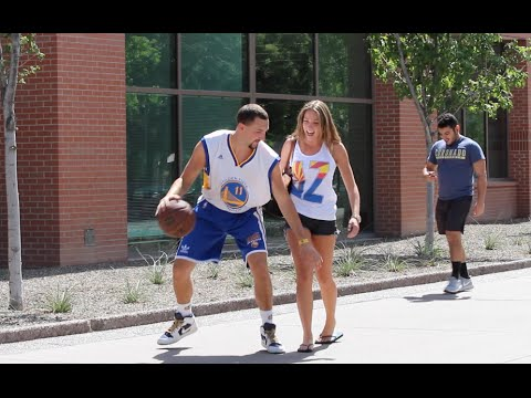 Thumbnail: Klay Thompson Plays Basketball with Strangers!!