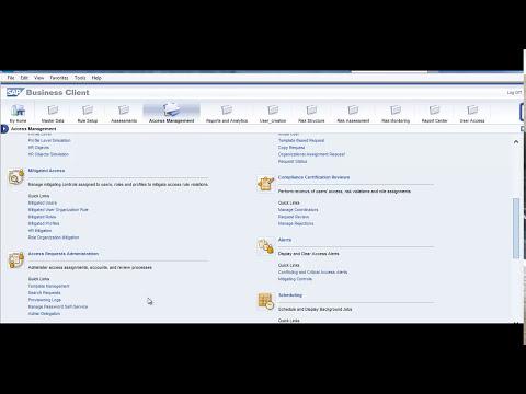 SAP GRC Process Control Videos