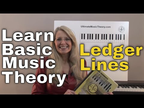 Ledger Lines - Music Theory: Video Lesson 1