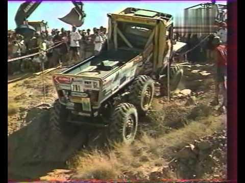 Europa Truck Trial 30 in 2000. ZIL 6x6, Tatra 8x8, Gama-Goat, Praga, Iveco,