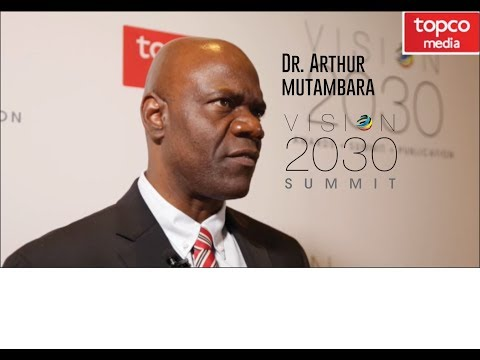Vision 2030 | Interview | Dr Arthur Mutambara | African News Agency | 2017