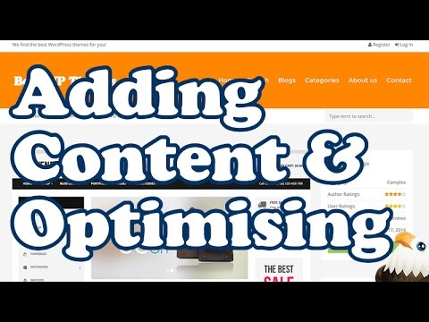 Adding and Optimising Affiliate Content Reviews
