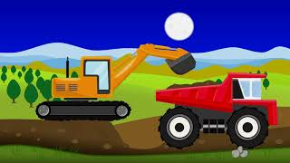 United Charger And Monster Truck | Fairytales For Children