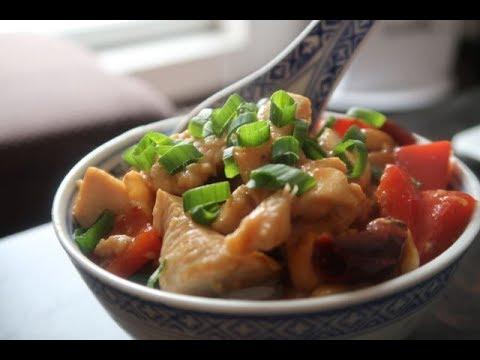 Kuchnia Chińska Kurczak Kung Pao 宫保鸡丁