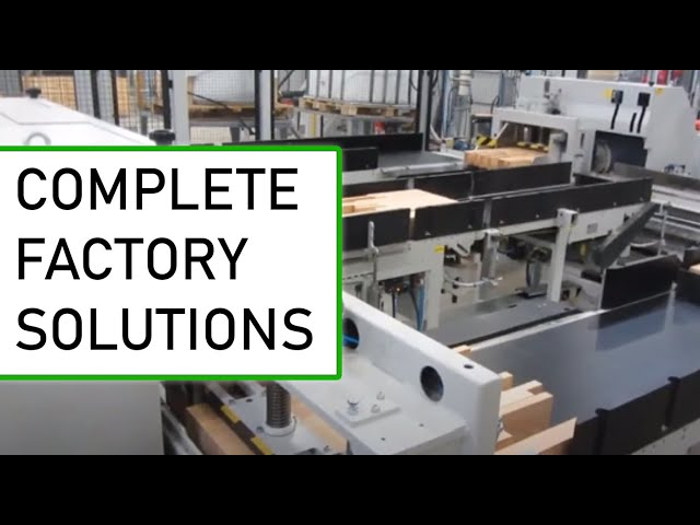 Weinig complete factory solutions