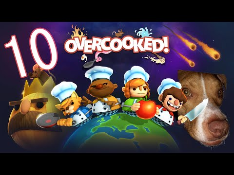 Too Many Cooks - Overcooked Part 10 - Nomad's Couch |