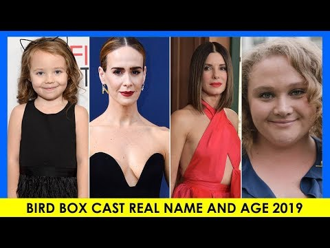Bird Box Cast: Real Name and Age | Then and Now 2019