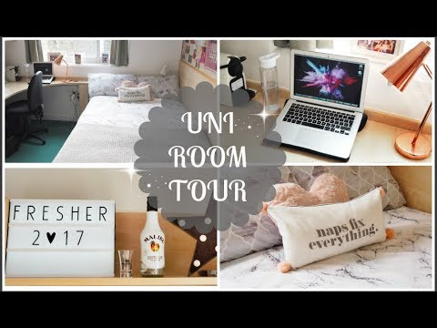 FIRST YEAR UNI ROOM TOUR | Loughborough University