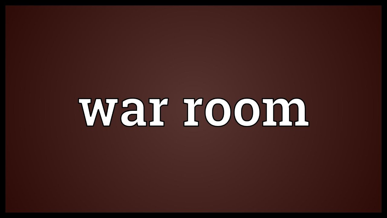 War room Meaning  YouTube