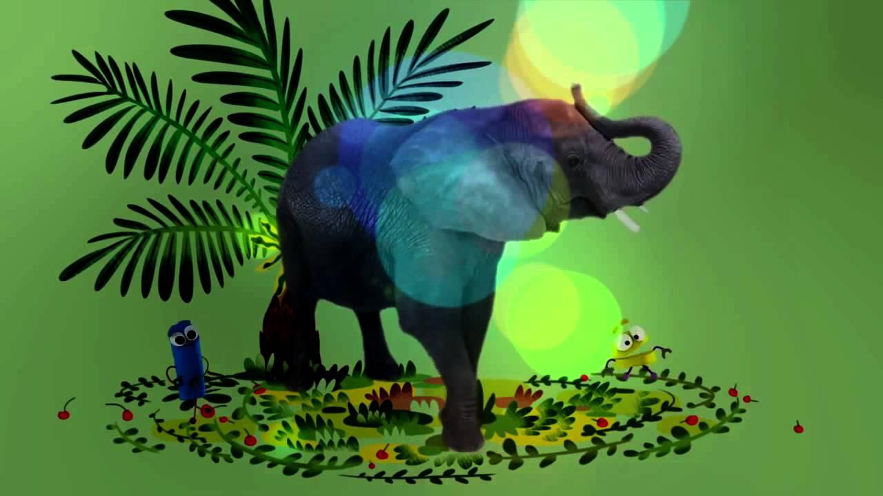 песенка про слона видео