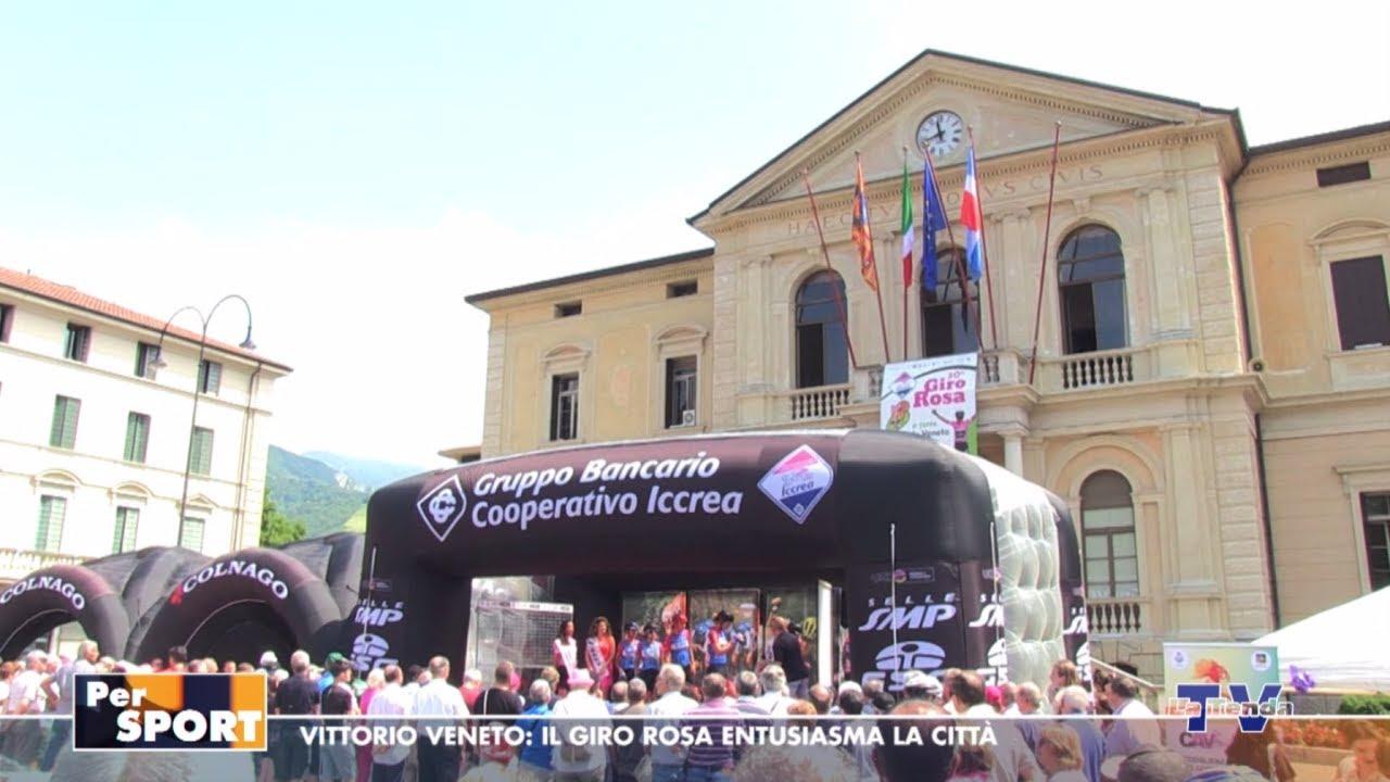 Per Sport - Vittorio Veneto: il Giro Rosa emoziona la città