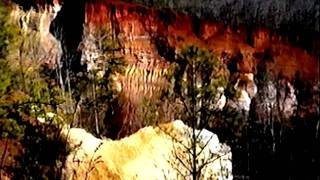 Providence Canyon 3-from the canyon rim/  8mm Travel Video series