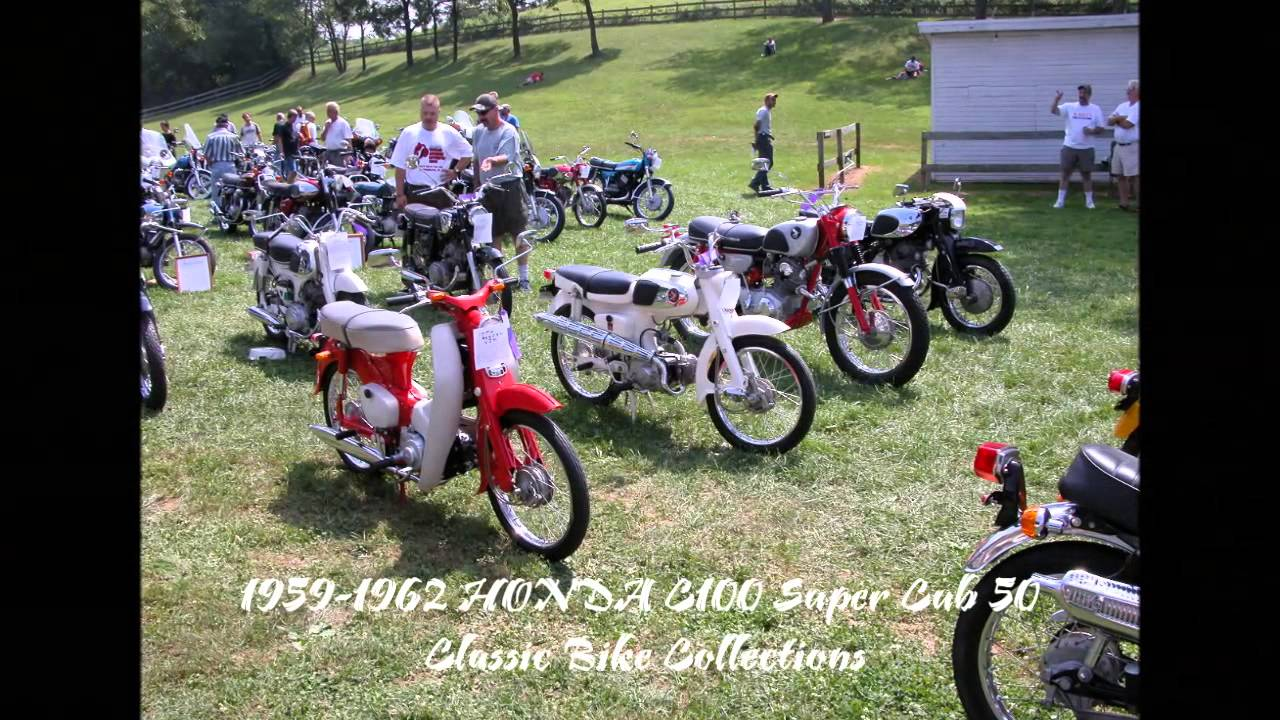 Honda Super Cub 50 C100 1960s Youtube Wiring Diagram