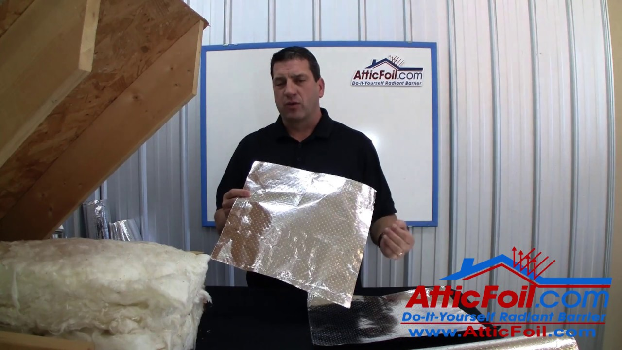 Attic Insulation - Quick How To Install SuperPerf™ Radiant Barrier