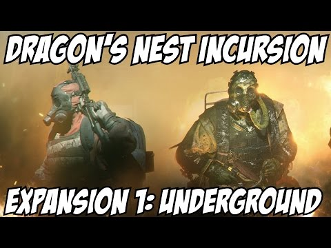The Division Dragon's Nest Incursion Gameplay Walkthrough Part 1 Guide Underground Expansion