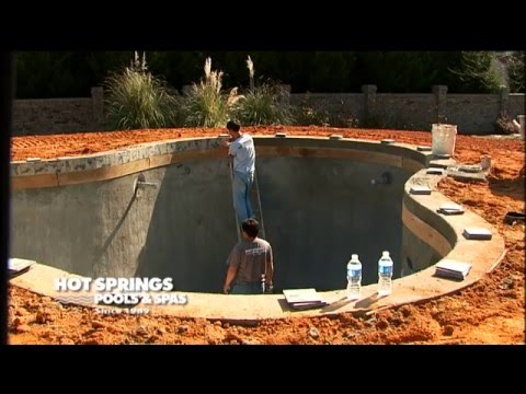 8 Steps To Building A Gunite Pool Pool And Spa Installation Upstate Sc Western Nc Youtube
