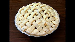 How To Make a Lattice Top For a Pie