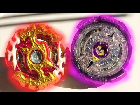 Spryzen Requiem S3 0 Zeta vs Noctemis N3 2 Jaggy : Beyblade Burst Evolution