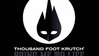 Thousand Foot Krutch - Welcome To The Masquerade, Bring Me To Life with Pre-Offcial poster.