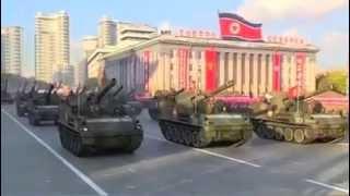 Северная Корея показала новое грозное оружие во время парада